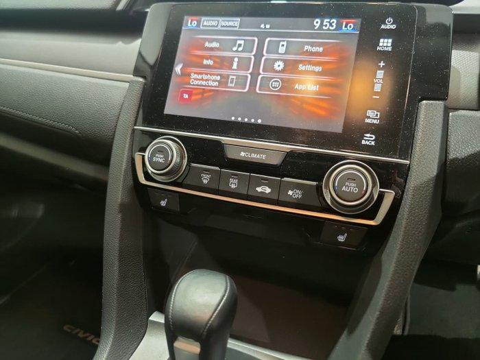 2017 Honda Civic RS 10th Gen MY17 Rally Red