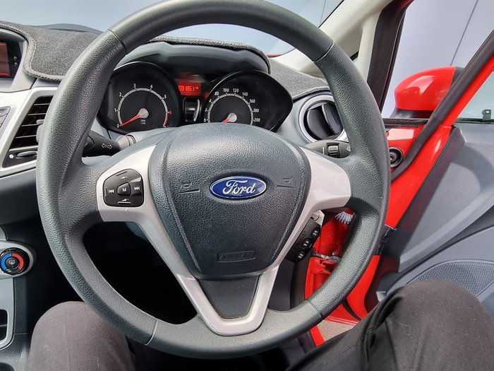 2012 Ford Fiesta CL WT Red