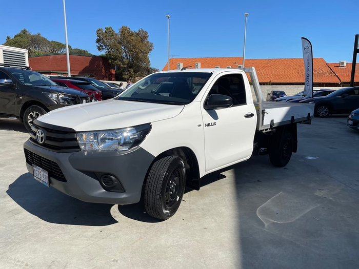 2019 Toyota Hilux Workmate TGN121R White
