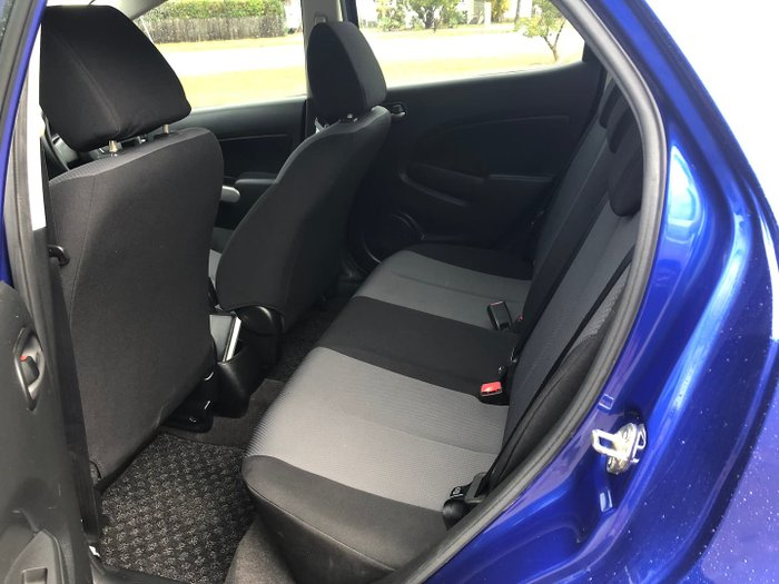 2010 Mazda 2 Neo DE Series 1 MY10 Aurora Blue