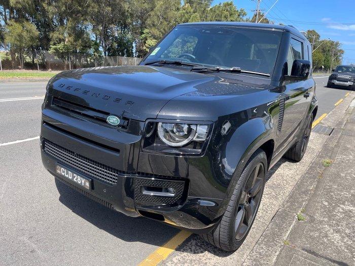 2021 Land Rover Defender 90 P400 X L663 MY22 AWD Santorini Black