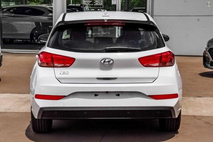 2021 Hyundai i30 Elite PD.V4 MY22 Polar White