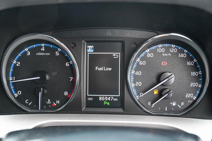 2018 Toyota RAV4 GX ASA44R AWD Blue Gem