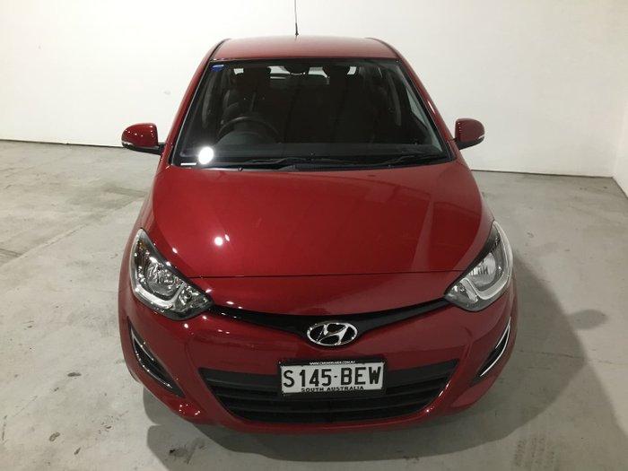 2014 Hyundai i20 Active PB MY15 Electric Red