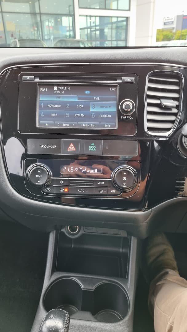2014 Mitsubishi Outlander ES ZJ MY14.5 4X4 On Demand Cool Silver