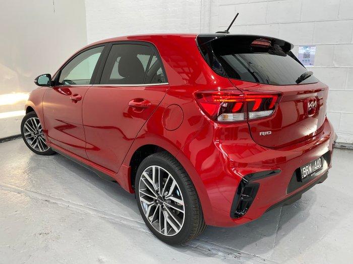 2021 Kia Rio GT-Line YB MY22 Signal Red