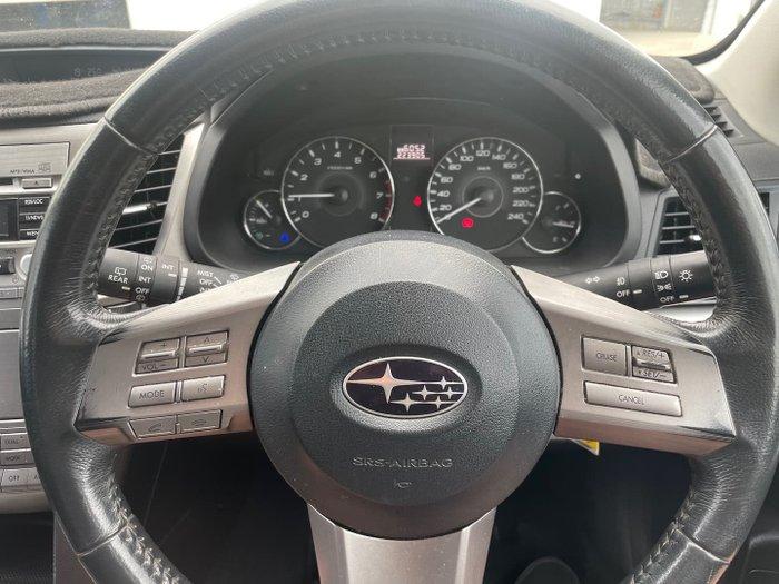 2011 Subaru Outback 2.5i 4GEN MY11 AWD Silver