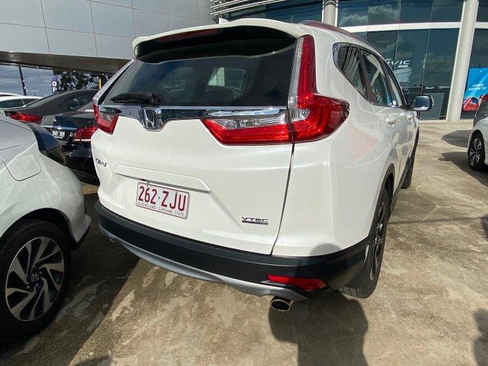 2018 Honda CR-V VTi-S RW MY18 White Orchid