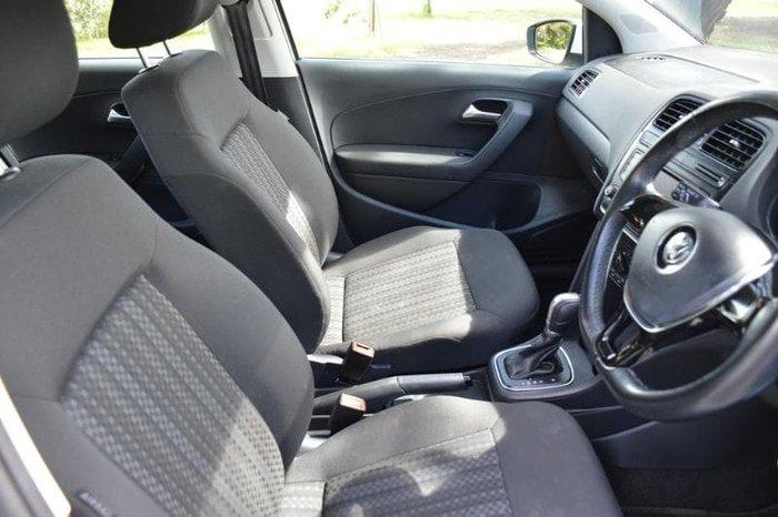 2017 Volkswagen Polo 66TSI Urban 6R MY17.5 Pure White