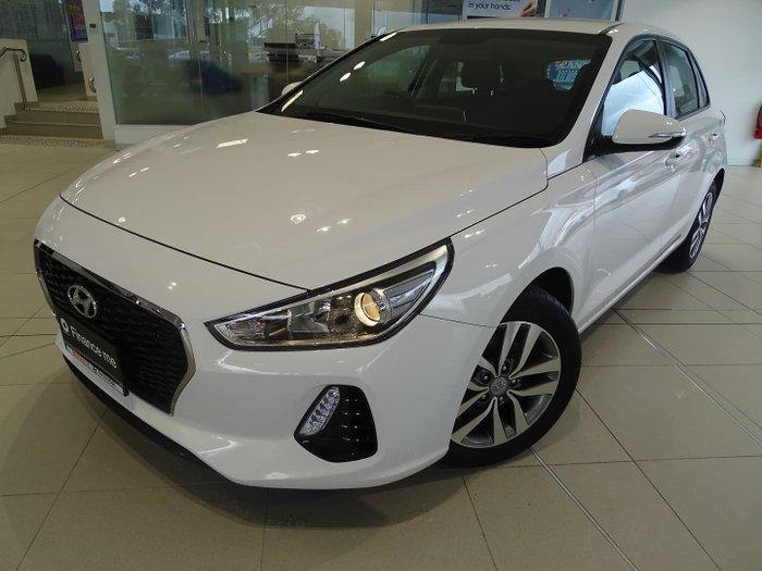 2019 Hyundai i30 Active PD2 MY19 Polar White