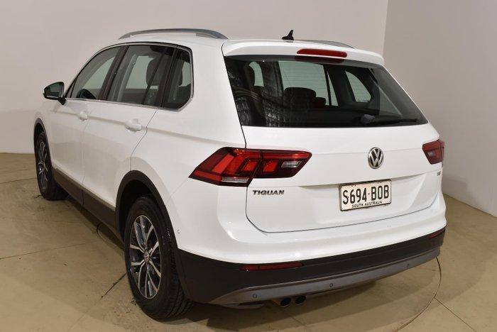 2017 Volkswagen Tiguan 110TSI Comfortline 5N MY17 Pure White