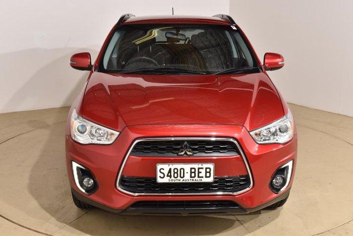 2015 Mitsubishi ASX LS XB MY15 Red