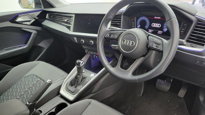 2020 Audi A1 35 TFSI GB MY20 Glacier White