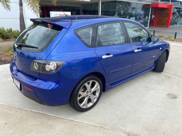 2007 Mazda 3 SP23 BK Series 2 Aurora Blue