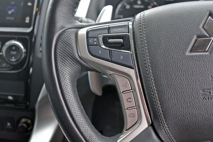 2016 Mitsubishi Pajero Sport GLS QE MY16 4X4 Dual Range Terra Rossa