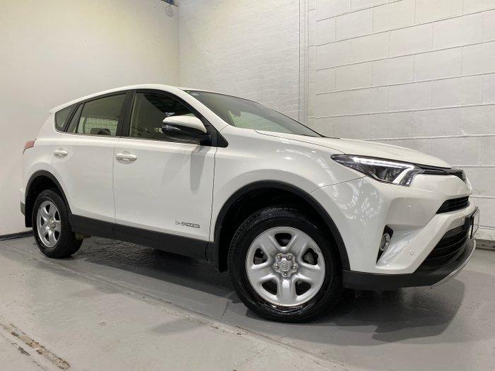 2018 Toyota RAV4 GX ALA49R AWD Glacier White