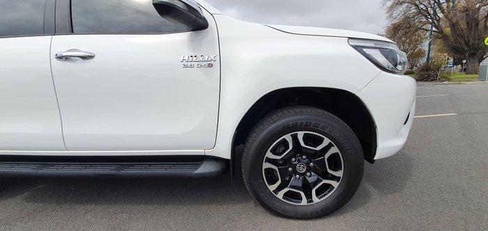 2016 Toyota Hilux SR5 GUN126R 4X4 Dual Range White