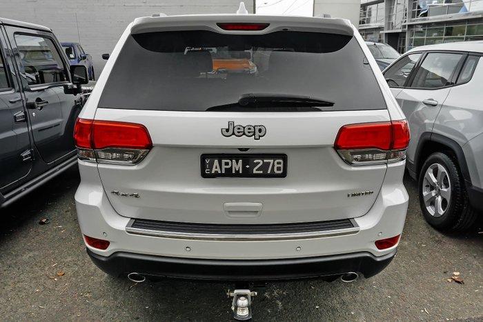 2018 Jeep Grand Cherokee Limited WK MY18 4X4 Dual Range Bright White