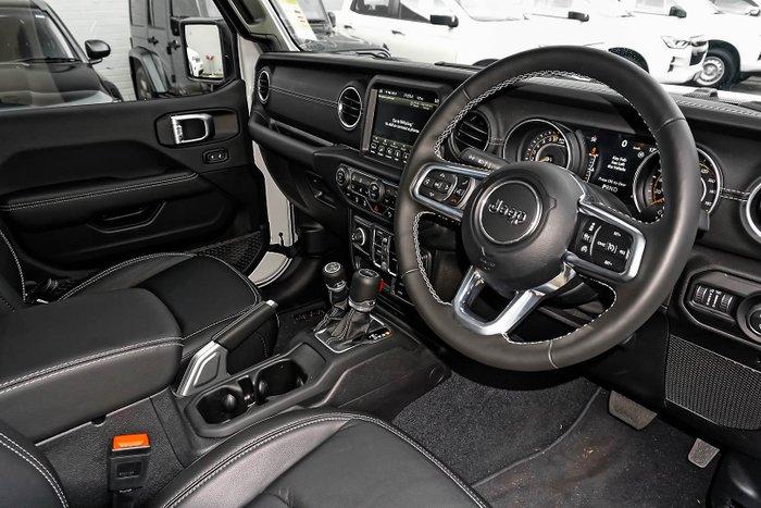 2020 Jeep Gladiator Overland JT MY20 4X4 On Demand Bright White