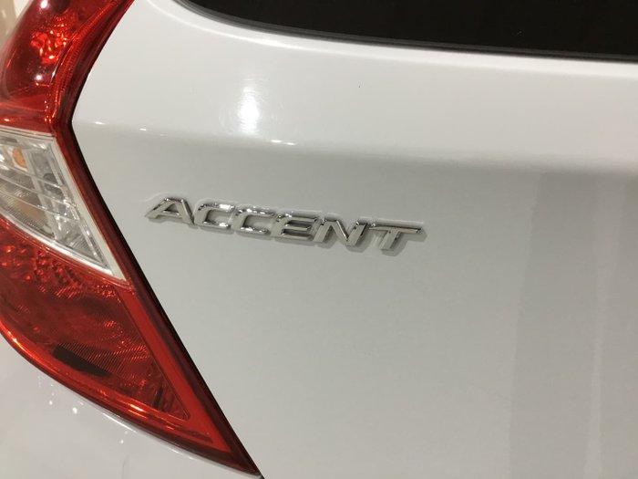2017 Hyundai Accent Sport RB6 MY18 Chalk White