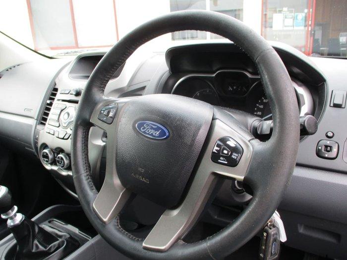 2012 Ford Ranger XLT PX 4X4 Dual Range Black Mica