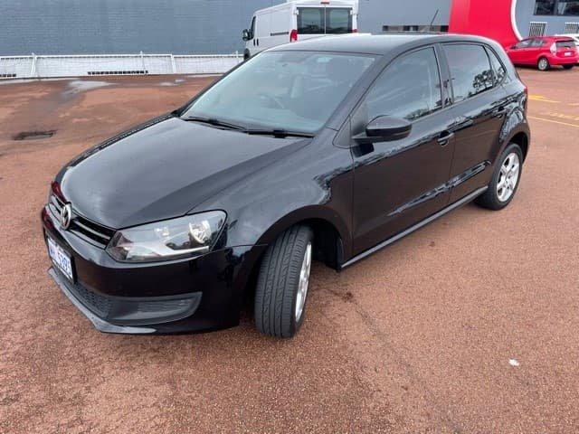 2012 Volkswagen Polo 77TSI Comfortline 6R MY12.5 Deep Black