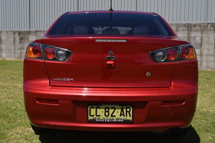 2014 Mitsubishi Lancer LS CJ MY15 Red