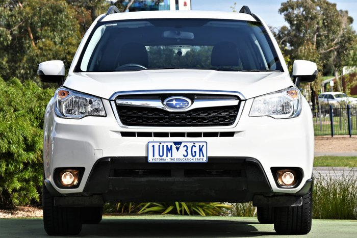 2015 Subaru Forester 2.5i-L S4 MY15 AWD Crystal White