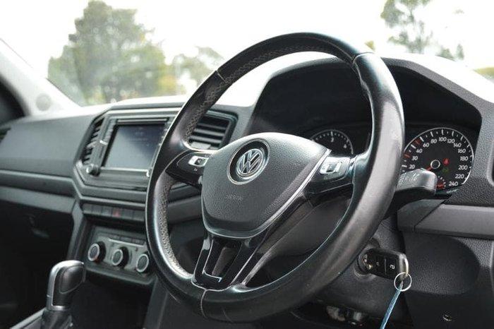 2019 Volkswagen Amarok TDI550 Core 2H MY19 4X4 Constant Candy White