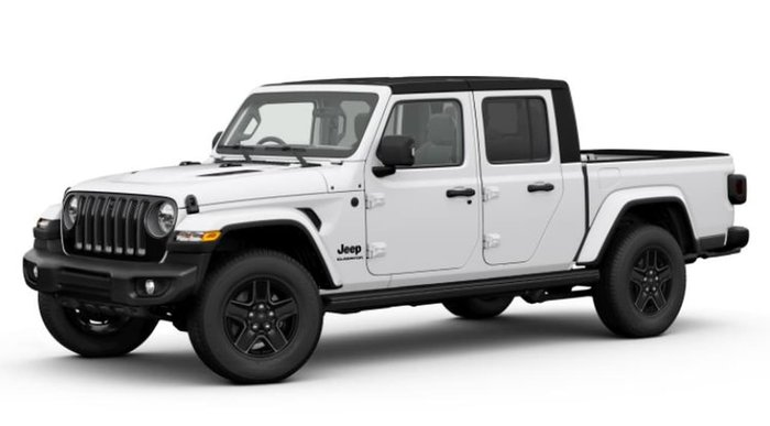 2021 Jeep Gladiator Night Eagle JT MY21 V2 4X4 On Demand White