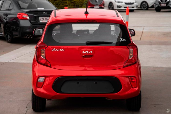 2021 Kia Picanto S JA MY22 Signal Red