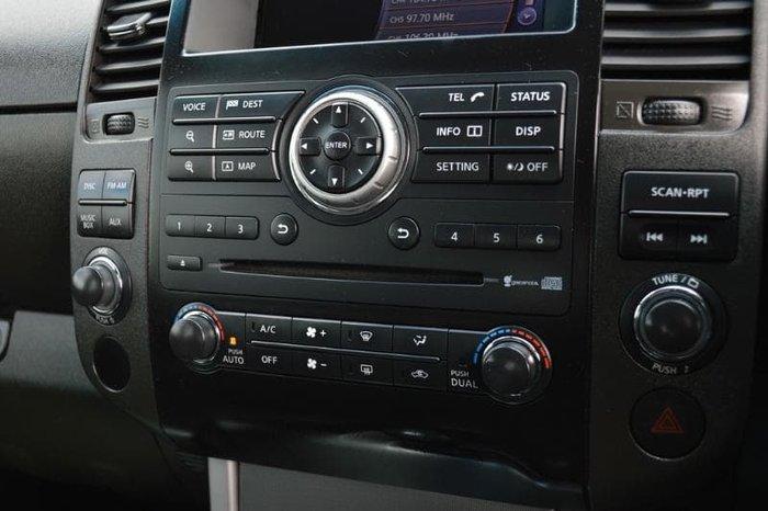 2012 Nissan Navara ST-X D40 Series 5 4X4 Arctic White