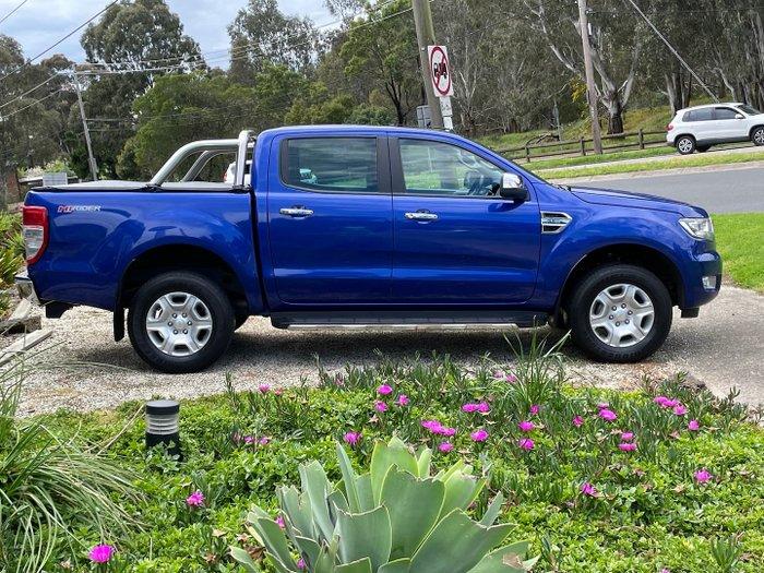 2016 Ford Ranger XLT Hi-Rider PX MkII Aurora Blue