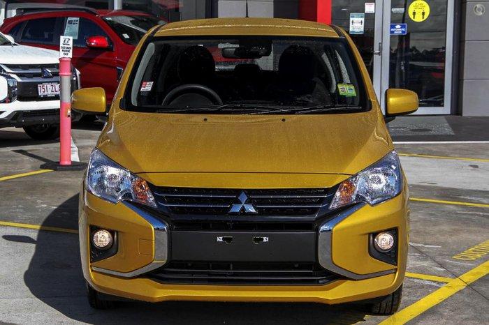 2021 Mitsubishi Mirage ES LB MY22 Sand Yellow