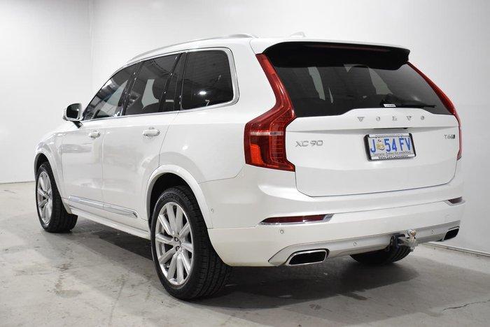 2015 Volvo XC90 T6 Inscription MY16 AWD White