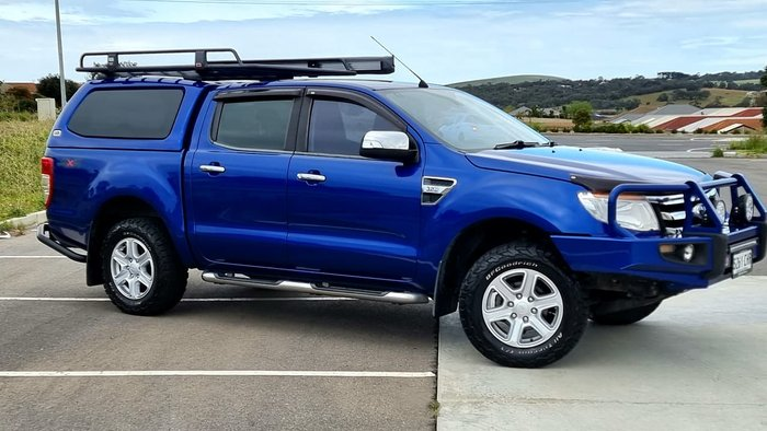 2014 Ford Ranger XLT PX 4X4 Dual Range Blue