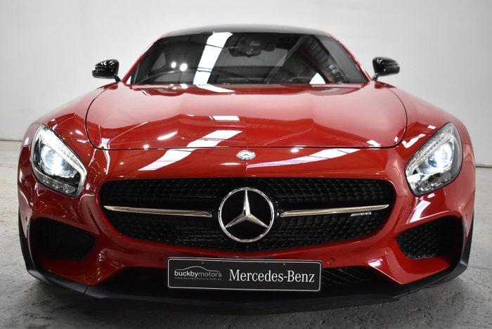 2015 Mercedes-Benz AMG GT S C190 Red