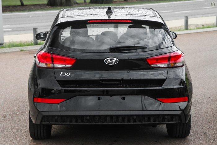 2021 Hyundai i30 Elite PD.V4 MY21 Phantom Black