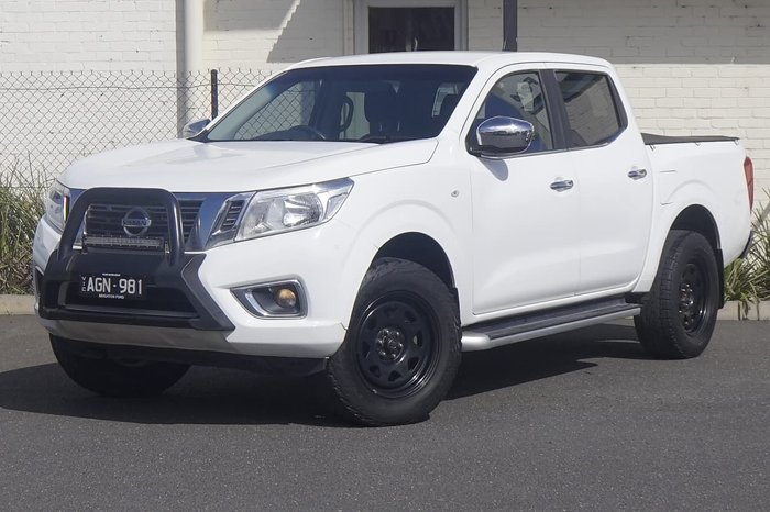 2015 Nissan Navara RX D23 White
