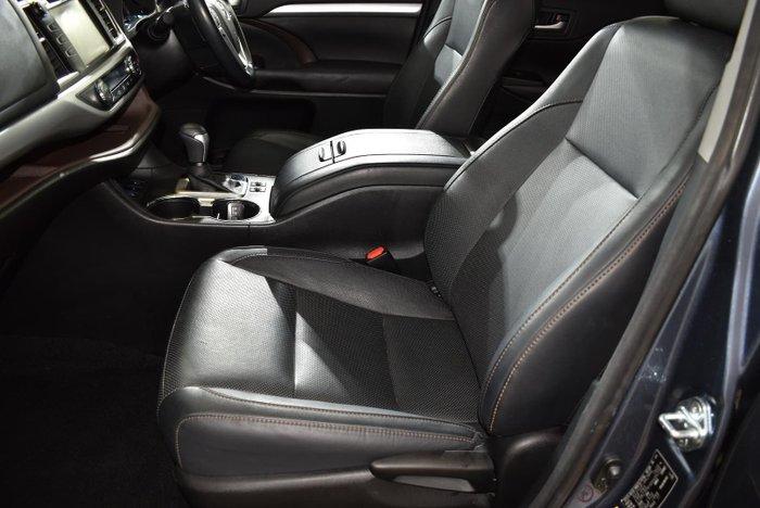 2017 Toyota Kluger GXL GSU55R AWD Cosmos Blue