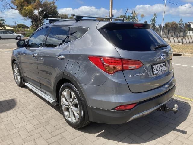 2014 Hyundai SANTA FE 2014 HYUNDAI SANTA FE DM2 HIGHLANDER 7S AUTO 2.2D WAGON DIESEL AMAZON GRAY