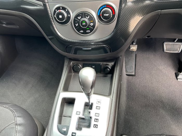 2012 Hyundai Santa Fe Trail CM MY12 4X4 On Demand Grey