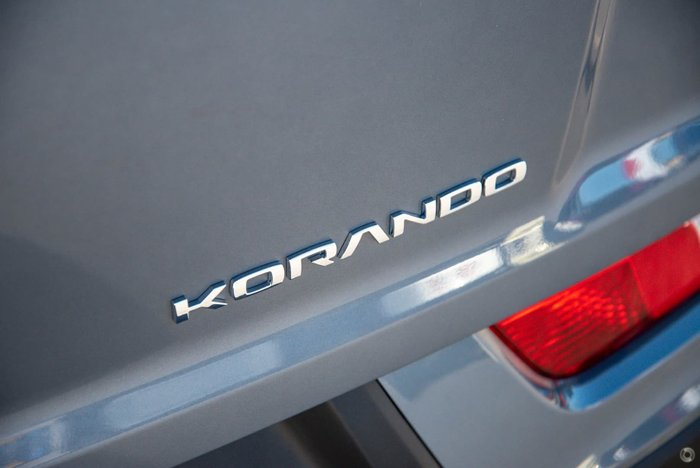 2021 SsangYong Korando Ultimate C300 MY21 Platinum Gray
