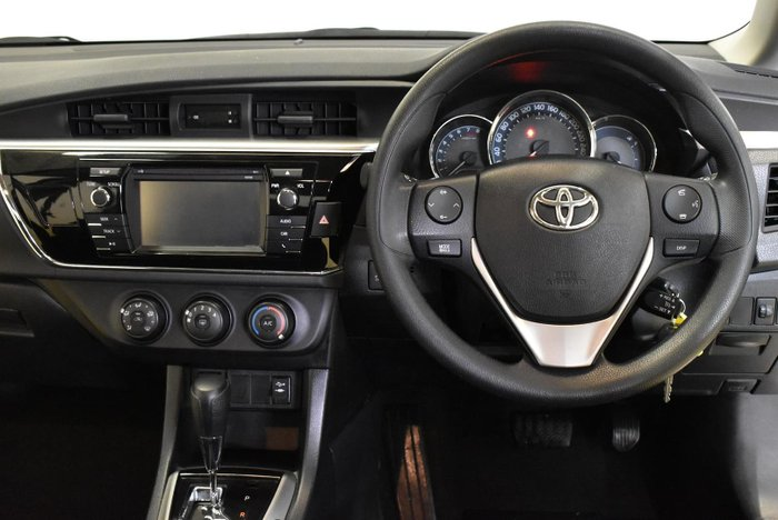 2016 Toyota Corolla Ascent ZRE172R Glacier White