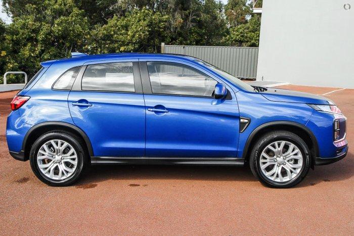 2021 Mitsubishi ASX ES XD MY21 Lightning Blue