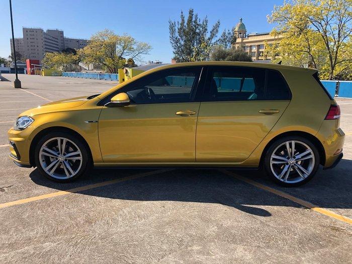 2017 Volkswagen Golf 110TSI Highline 7.5 MY17 Yellow