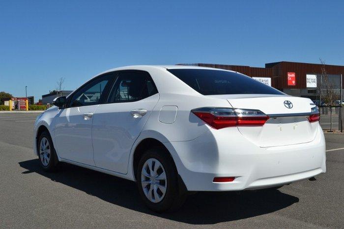 2017 Toyota Corolla Ascent ZRE172R GLACIER WHITE