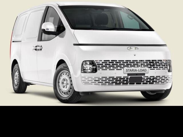 2021 Hyundai STARIA 2022 Hyundai US4.V1 STARIA LOAD 2S 2.2D LIFTBACK AUTO CREAMY WHITE