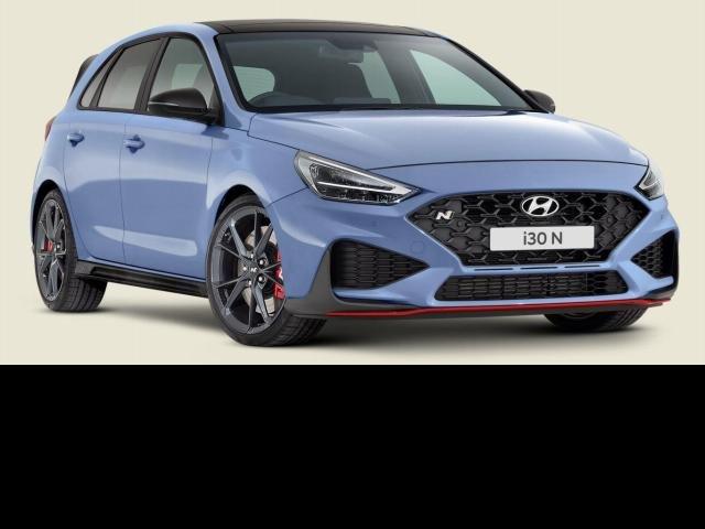 2021 Hyundai i30 2022 Hyundai PDE.V4 I30 N HATCH PREM S.ROOF 2.0P DCT PERFORMANCE BLUE
