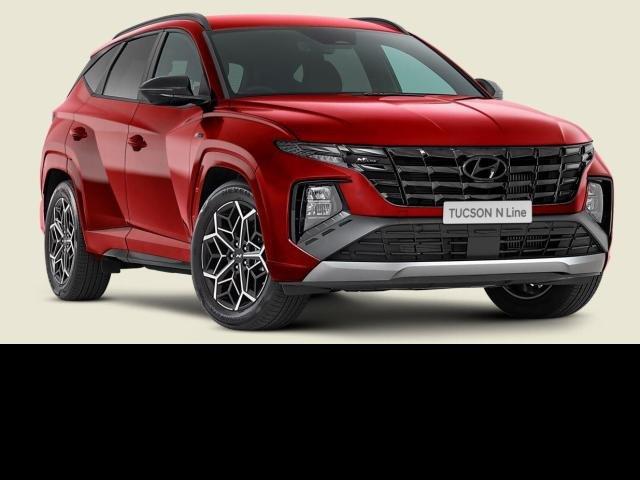 2021 Hyundai TUCSON 2022 Hyundai NX4.V1 TUCSON N LINE 2.0P AUTO CRIMSON RED